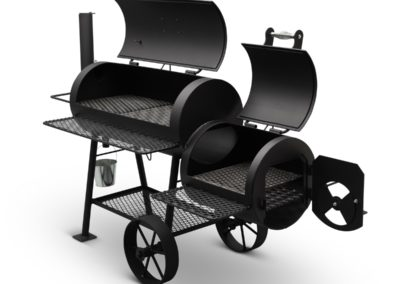 "Yoder Smokers 16"" Cheyenne Offset Smoker"