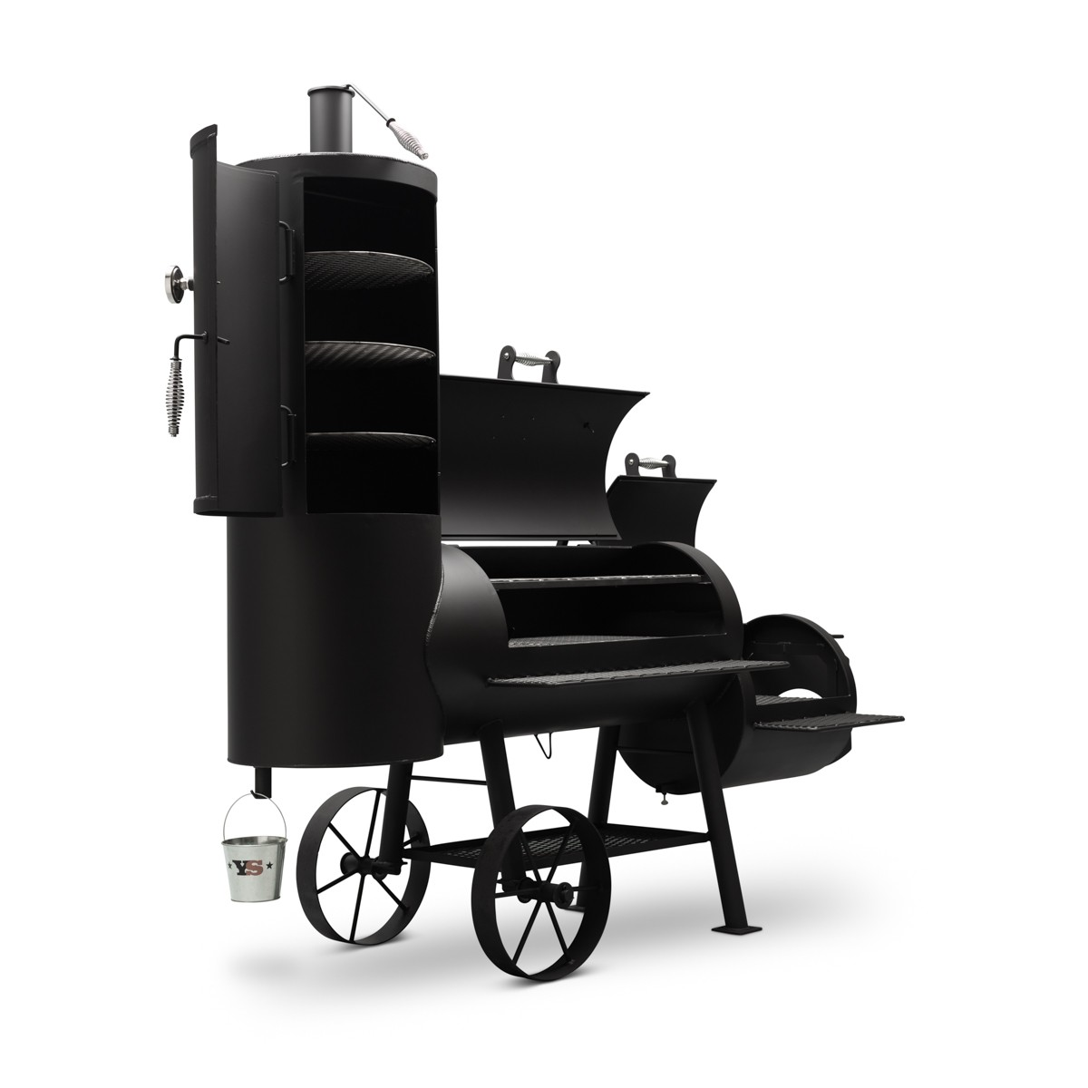 "Yoder Smokers 20"" Loaded Durango Offset Smoker"