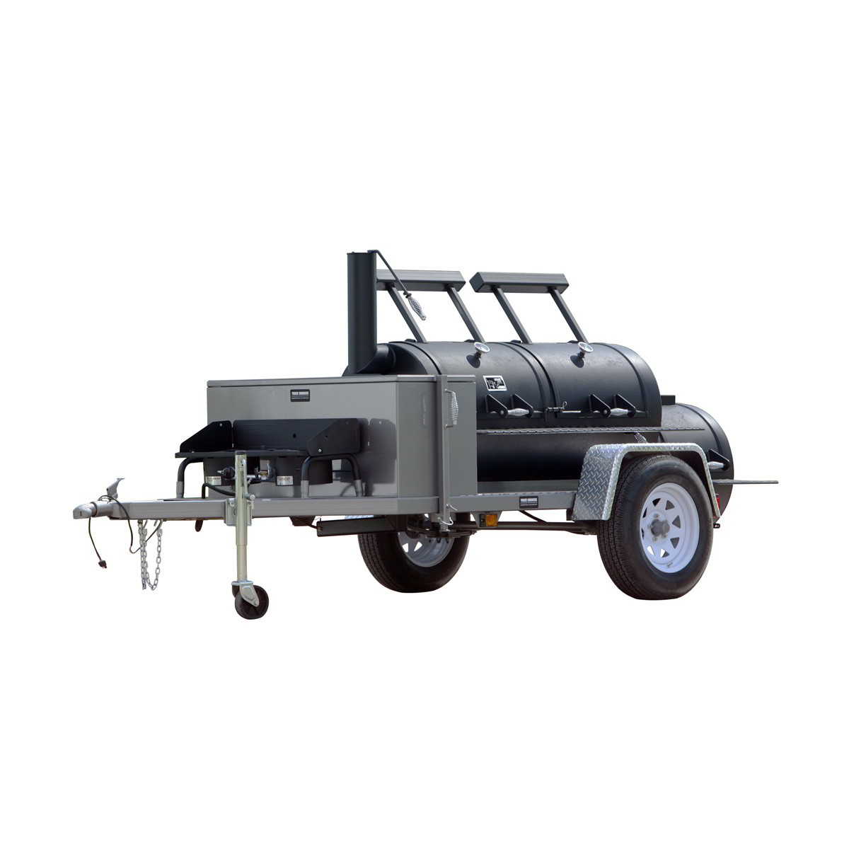 "Yoder Smokers 24"" Chisholm Trailer Mounted Smoker"