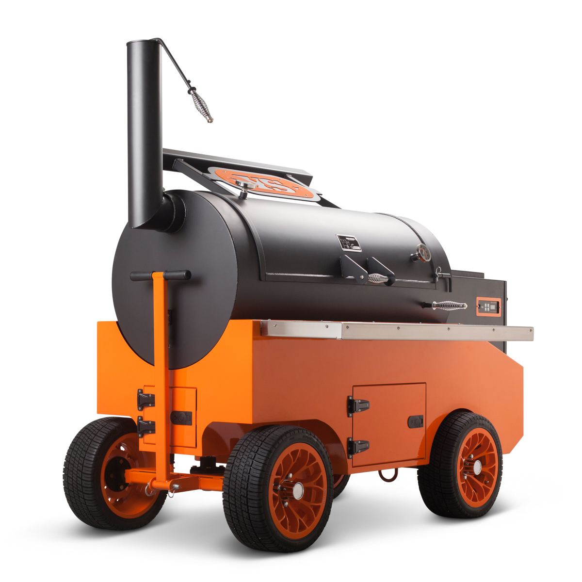 Cimarrons Pellet Competition Smoker