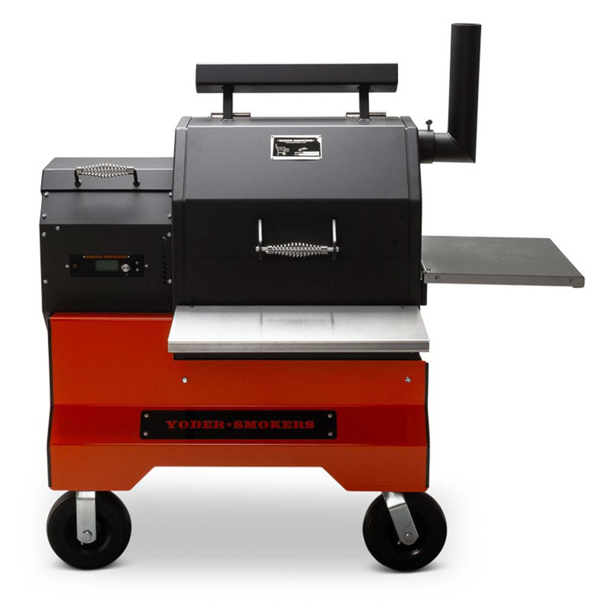 Yoder Smokers YS480S Pellet Grill on Competition Care